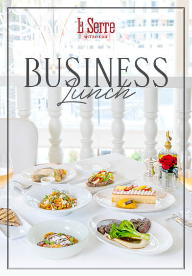 La Serre Business Lunch