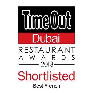 2018 Best French Restaurant – Shortlisted