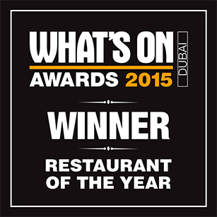 2015 Restaurant of the Year – Winner