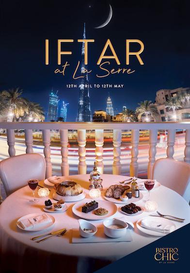 Iftar at La Serre