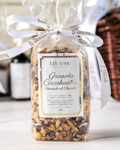 Peanut, Almond, and Chocolate Granola 200g