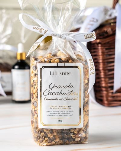 Peanut, Almond, and Chocolate Granola 350g